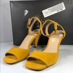 [179] Vince Camuto 7 M Cone-Heel Dress Sandals